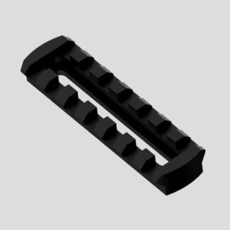Rail picatinny ajustable