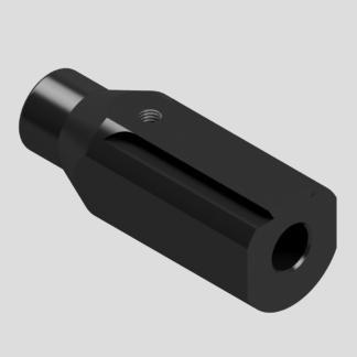 Adaptateur guidon dioptre 11 mm pour Crosman 2240