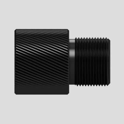 Adaptateur silencieux pour AR 9mm - 1/2x36 TPI vers filetage au choix